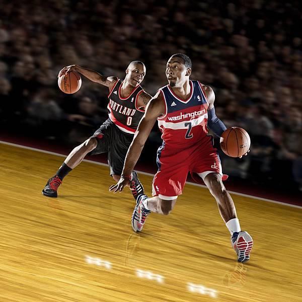 Crazy Quick由華盛頓巫師隊John Wall及年度最佳新人得主波特蘭拓荒者隊Damian Lillard,兩位NBA新生代頂級後衛共同代言