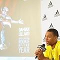 NBA年度最佳新秀 Damian Lillard 首度登台!