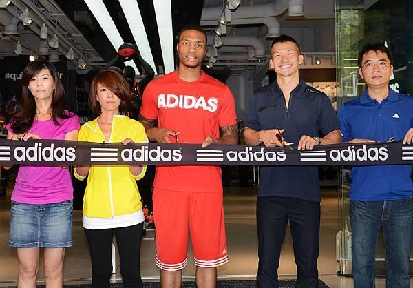 全球運動領導品牌adidas打造台灣全新旗艦店, 今 (6) 日於台北東區商圈隆重開幕