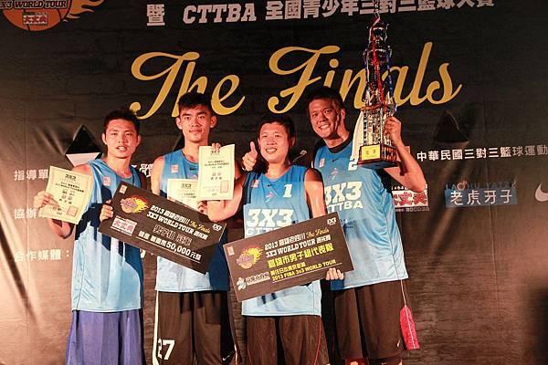 由SBL好手朱億宗、蕭元昶、王男桂、尚韋帆(由左至右)組成的「阿標隊」將代表台灣前往東京參加3x3世界巡迴賽亞大區大師賽