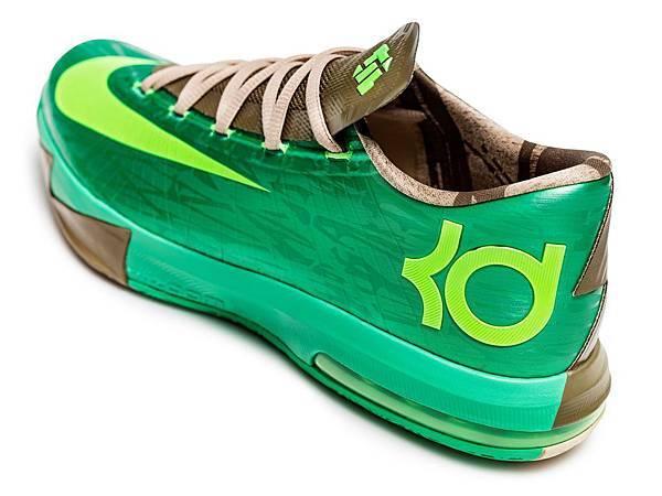 Nike KD VI Bamboo象徵Kevin Durant挑戰未來的決心