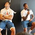 Carmelo Anthony回答問題