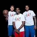 Jordan品牌籃球員Carmelo Anthony、Chris Paul、Blake Griffin台北飛翔之旅