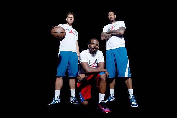 "Jordan品牌籃球員與台北籃球愛好者分享自己的""飛翔""經歷"