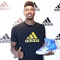 Iman Shumpert於現場介紹adidas Crazy Quick全新科技鞋款-1