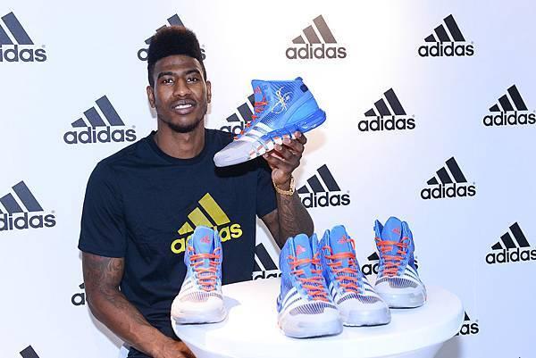 Iman Shumpert於現場介紹adidas Crazy Quick全新科技鞋款-3