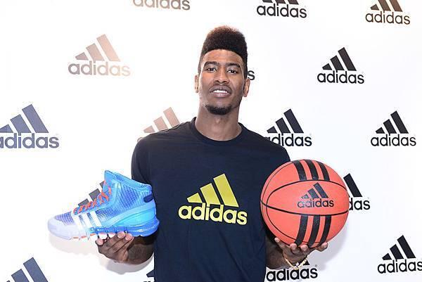 Iman Shumpert於現場介紹adidas Crazy Quick全新科技鞋款-2