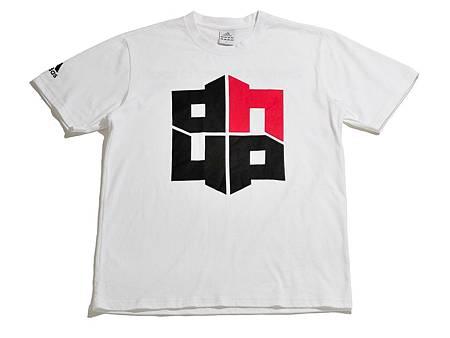 adidas Dwight Howard亞洲之旅限定T恤,售價NT$1,090