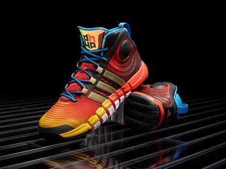 adidas為Dwight Howard獨家打造的D HOWARD 4亞洲之旅限定配色簽名鞋款,售價NT$4,290