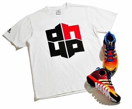 adidas同時推出Dwight Howard亞洲之旅限定T恤與限定配色簽名鞋款D HOWARD 4,於8月15日同步上市