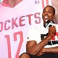 adidas Dwight Howard 訪台記者會,Howard暢談自己期盼加盟休士頓火箭隊後能再次升空
