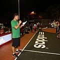 adidas101 x 痞客邦 籃球之夜 (9) 由專業籃球DJ林志彥唱名兩隊球員出場