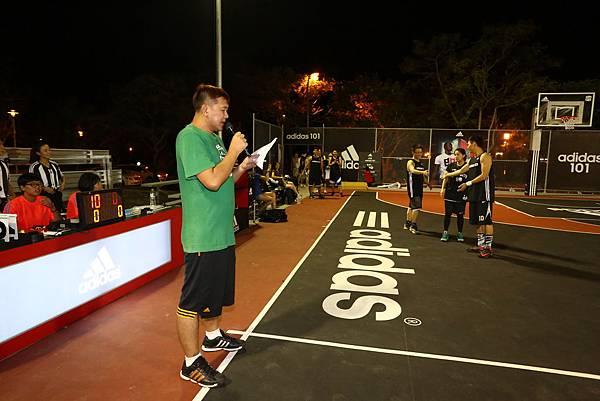 adidas101 x 痞客邦 籃球之夜 (10) 海碩運動行銷籃球隊登場