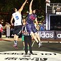 adidas101 x 痞客邦 籃球之夜 (33) 比賽開始啦!