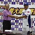 20130913義大犀牛楊森隆正式任命曾智偵擔任總教練2