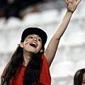伊朗女性球迷歡呼