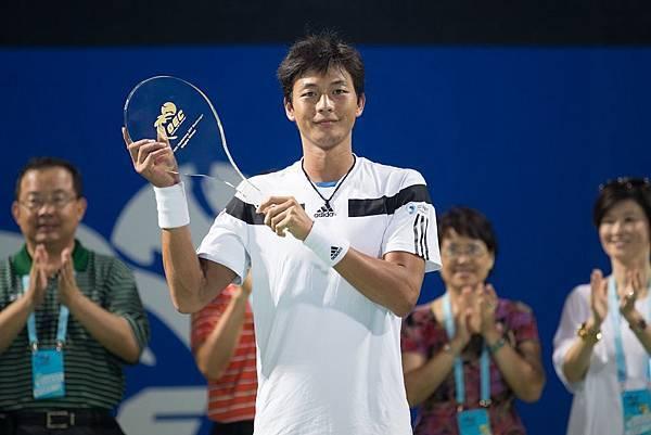 「2013高雄海碩國際男子網球挑戰賽」單打冠軍盧彥勳(1)
