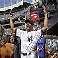 Mariano Rivera背號退休儀式