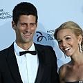 兩人一同出席Djokovic基金會晚宴(2013)