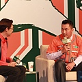 郭泓志表示以後每出賽一場就捐三萬元做公益