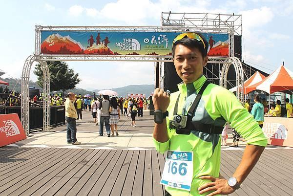 極地超馬好手陳彥博熱情參與2013The North Face日月潭定向越野挑戰賽