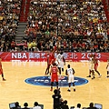 2013 NBA Taipei Game tip-off