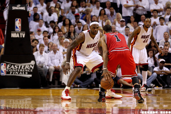 Derrick+Rose+Chicago+Bulls+v+Miami+Heat+Game+ankJkAdqL4dl