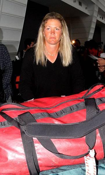 20131021 去年冠軍蘇珊派特森今日抵台準備冠軍保衛戰