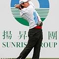 20131024 曾雅妮 (Yani Tseng) 首回合以高於標準桿4桿的76桿作收,暫時排名並列47,落後派特森8桿