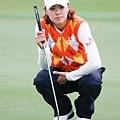 20131024 高人氣的崔羅蓮 (Na Yeon Choi)首日擊出74桿成績並列第21名