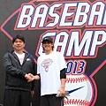 野茂英雄與Nike運動員陽岱鋼參與Nike All Taiwan Baseball Camp擔任教練,傳承經驗與分享專業技巧