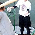 Nike運動員張正偉於Nike All Taiwan Baseball Camp指導學員打擊技巧 (1)