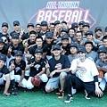 Nike運動員王建民、張正偉於Nike All Taiwan Baseball Camp勉勵學員堅持夢想,永不放棄