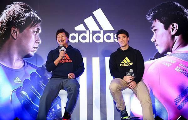adidas啟用李振昌、羅嘉仁擔任男性健身訓練系列最新代言人,希望透過adidas健身系列商品的強大機能,提供兩位頂尖運動員在棒球世界最高殿堂 - 大聯盟的賽場上擁有最佳表現。