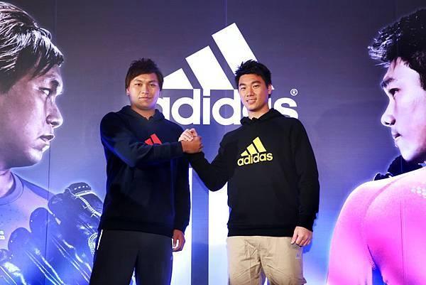 國際知名運動品牌adidas持續加入台灣頂尖運動員,奠定運動品牌中的領導地位。今日正式宣佈網羅兩位旅美大聯盟投手李振昌、羅嘉仁加入品牌陣容。
