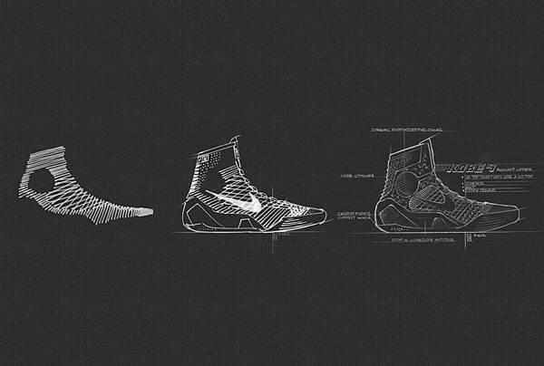 Nike Flyknit技術引入全新織造方式,以多股紗線編織成鞋面,更有利環保,製作時將鞋面廢料與用料減少了將近50%。
