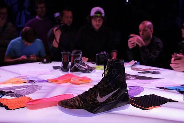 Nike Basketball於洛杉磯當代藝術館發表Kobe 9 Elite,運用Nike Flyknit技術重新定義籃球鞋
