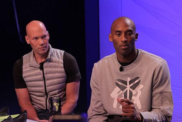 Nike創意總監兼創新副總裁Eric Avar表示,他一直為Kobe設計專屬球鞋,已經與Kobe密切合作了整整十年