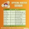 塞爾維亞12人名單