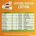 拉脫維亞12人名單