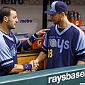 Sean Rodriguez, Ben Zobrist