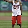 知名歌手Nelly擔任紅雀隊開球嘉賓