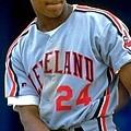 青年時期清瘦的Manny Ramirez