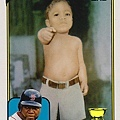「老爹」David Ortiz的童年玉照