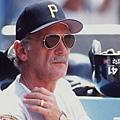 時任匹茲堡海盜隊總教練的Jim Leyland