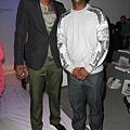 C.C. Sabathia和NBA球星Amare Stoudemire