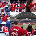 多倫多藍鳥隊主場歡慶加拿大國慶日