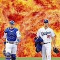 心中一團火準備爆發的Clayton Kershaw