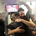 底特律老虎慶祝殺入ALCS