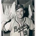 Joe Adcock--July 31, 1954